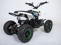 MOTAX Gekkon 70 сс Квадроцикл бензиновый бело-зеленый вид 4