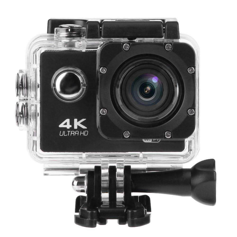 Экшн-Камера 4K Sports Ultra HD DV, цвет Черный