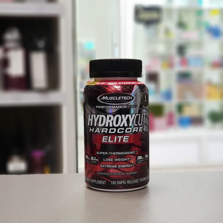 Muscletech - Hydroxycut Hardcore Elite (100 капс)