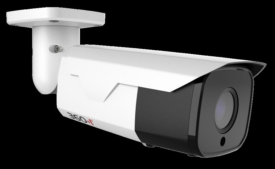 Модель 0142, 4 Мп IP-камера, моторизованный 2.7-13.5 мм, цилиндрическая, PoE