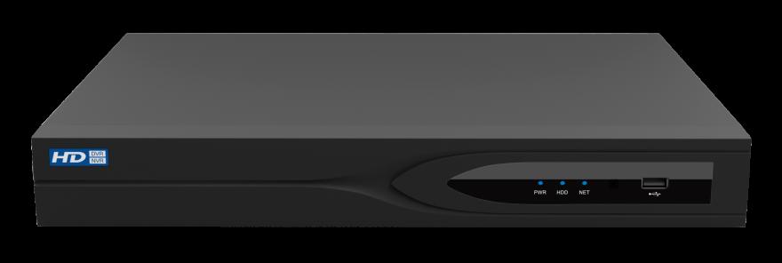 Модель 0345 (NVR-1601-01P8), 16 каналов, 1х8 ТВ, РоЕ