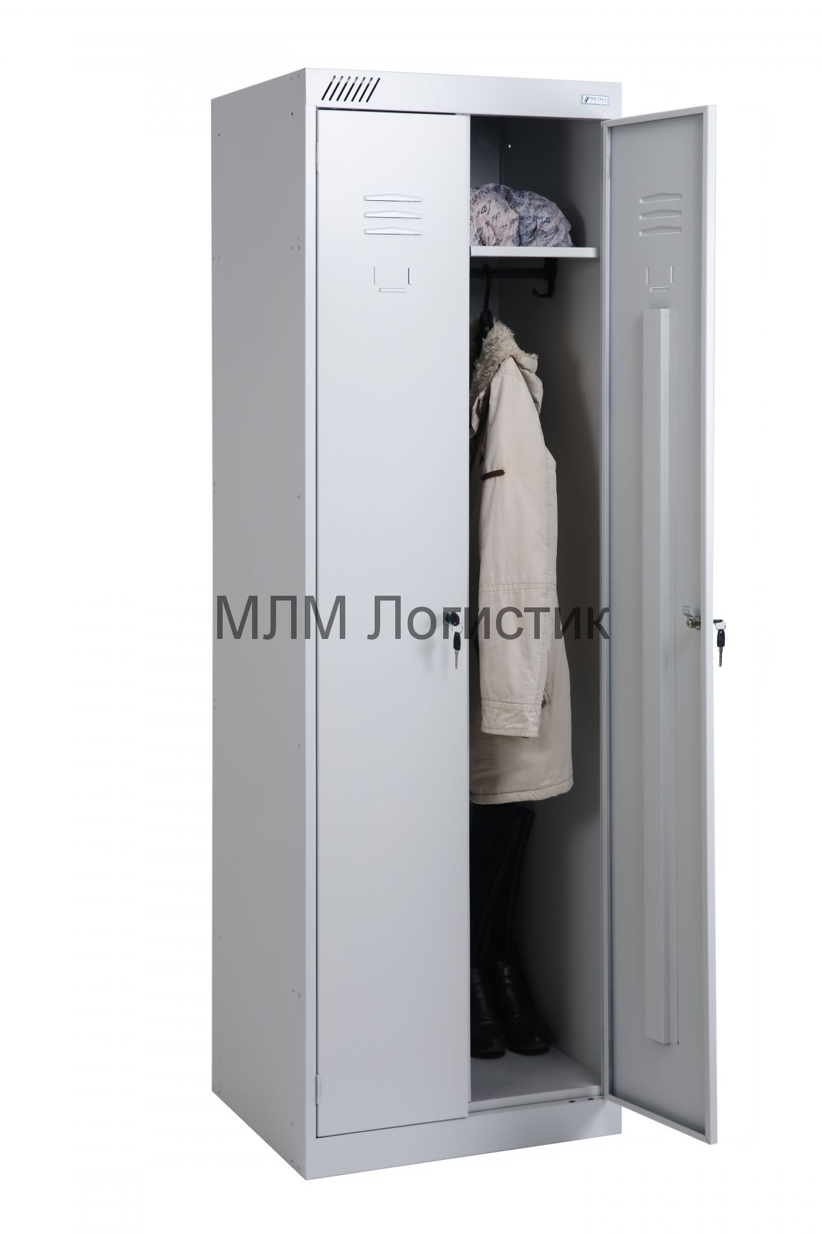 Металлические шкафы для одежды серии ТМ-12