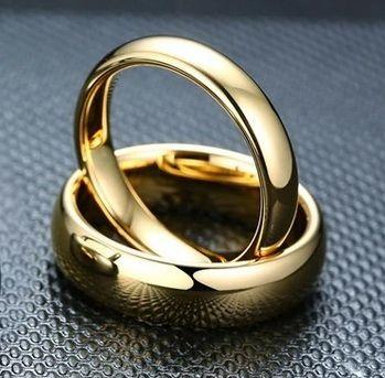 Обручальные кольца из вольфрама