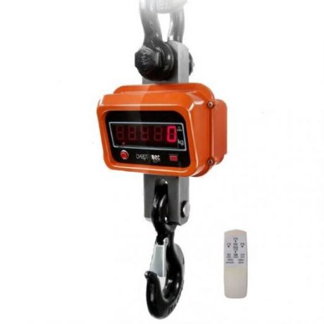 К/В электронные ВЭК-5000, с поворотным крюком