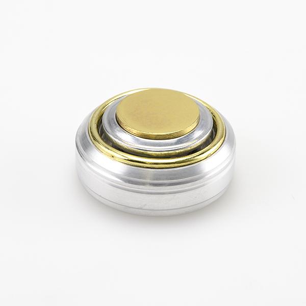 Оснастка металлическая ручная - Брелок-кнопка, со штемпельной подушкой