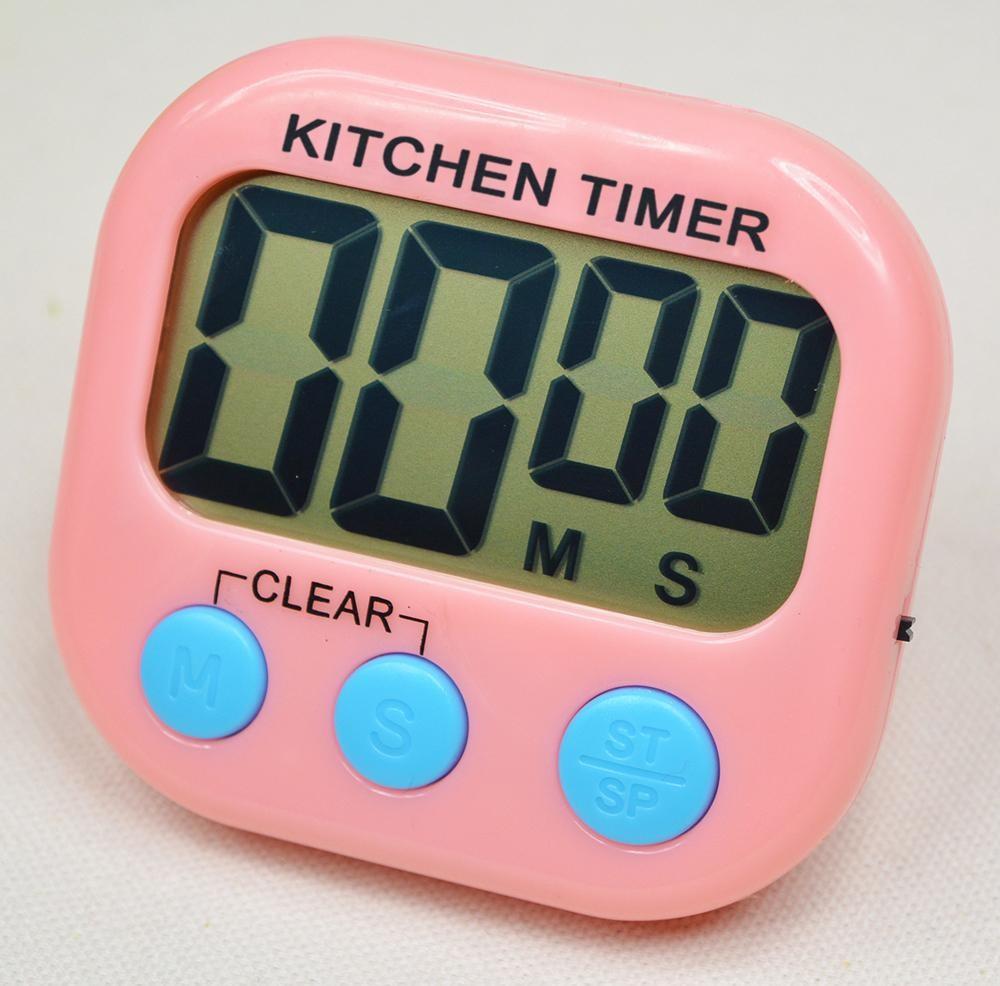 Кухонный электронный таймер с подножкой и магнитом XL103