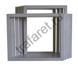 Рама алюминиевая 584 х 786 мм, (профиль 38 х 38 х 1.8 мм)