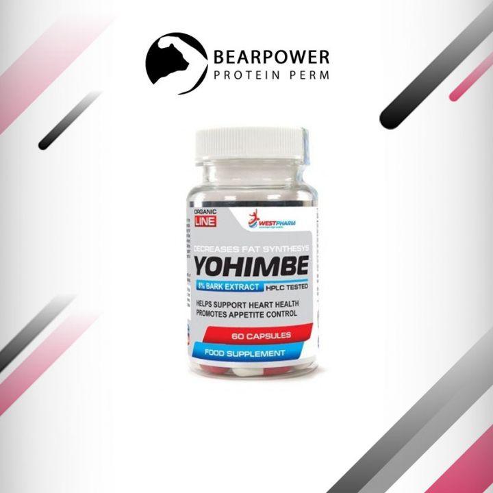WestPharm Yohimbe Extract 60 caps