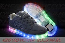 Роликовые кроссовки Heelys Premium 2 Lo HE100427