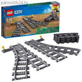 """Конструктор LEGO City """"Железнодорожные стрелки"""""""