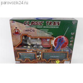 Железная дорога р/у Classic Train (свет, звук), 14 деталей