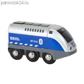 """Игрушечный паровозик """"Оскар"""" от BRIO"""