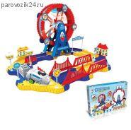 Игровой набор Doraemon - Железная дорога с поездом (свет)
