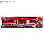 """Игрушечный поезд """"Городской экспресс"""" (на бат., свет, звук), 45 см"""