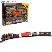 Железная дорога с поездом на батарейках