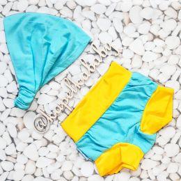 Бирюза Пляжный комплект