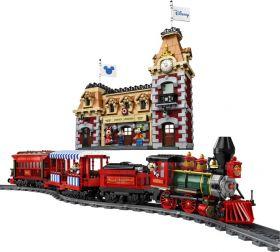 71044 Лего Поезд и станция Дисней