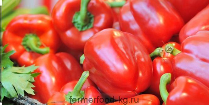 Перец болгарский красный 1/кг