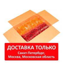 Коробка замороженных ягод 10 кг (черника 2,5 кг, клюква 2,5 кг, облепиха 2,5 кг, чёрная смородина 2,5 кг)