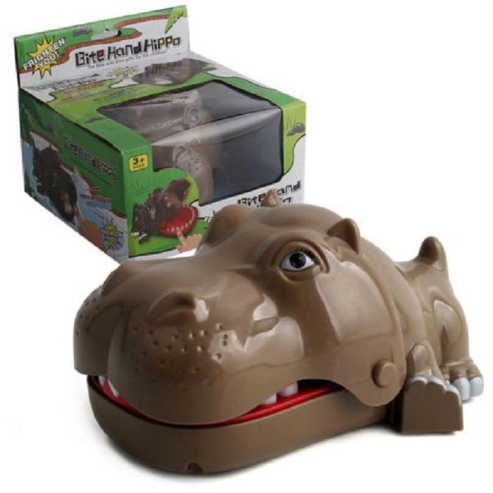 Развивающая игрушка-ловушка, Бегемот
