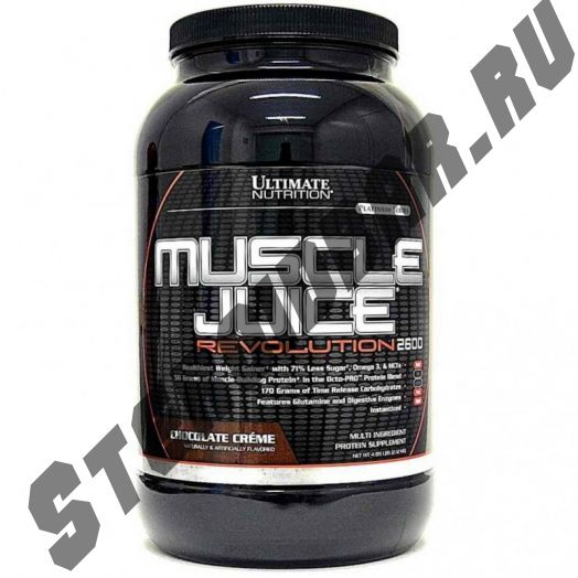 Muscle Juice Revolution 2600 - 2120 гр 4.69lb (Ultimate Nutrition)