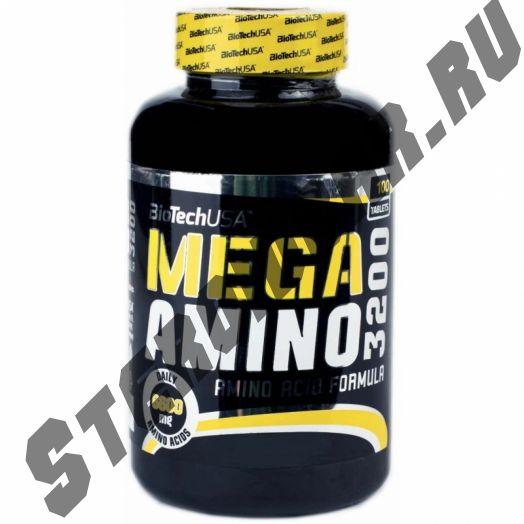 Mega Amino 100 табл (BiotechUSA)