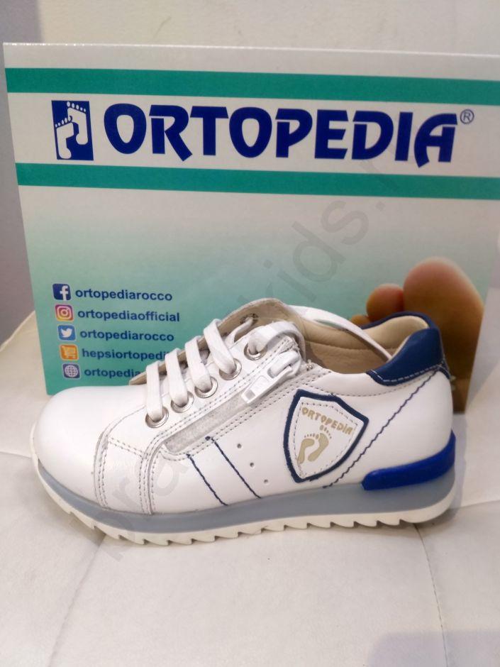 292-1 Ortopedia Кроссовки Детские (26-30) в белом цвете