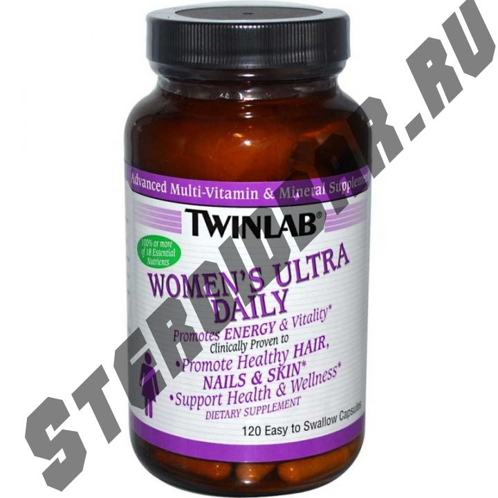 Women's Ultra Daily 120 капс. (Twinlab)