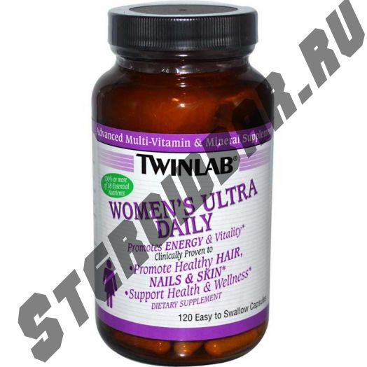 Women's Ultra Daily 120 капс. (Twinlab)