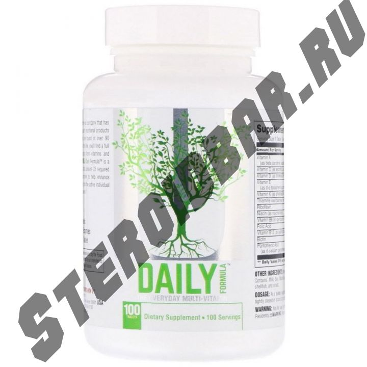 Daily Formula 100 табл. (Universal Nutrition)
