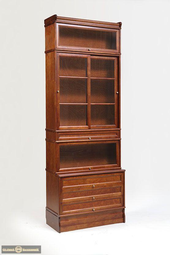 Стойка К154 модульно-секционного книжного шкафа серии Кенигсберг-Люкс