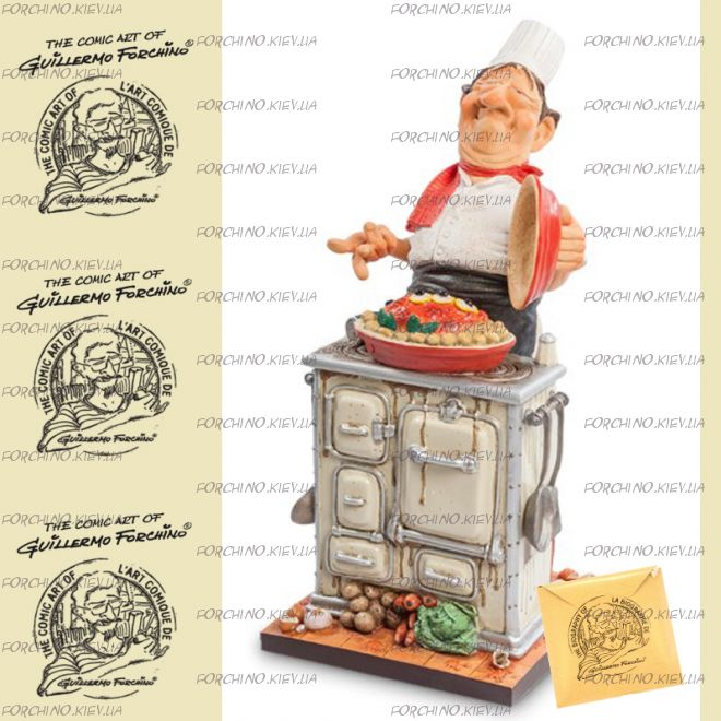 "Фигурка шеф повар 85524 ""The Master Chef. Forchino"""
