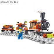 """Конструктор  LEGO """"Поезд"""", 185 деталей"""