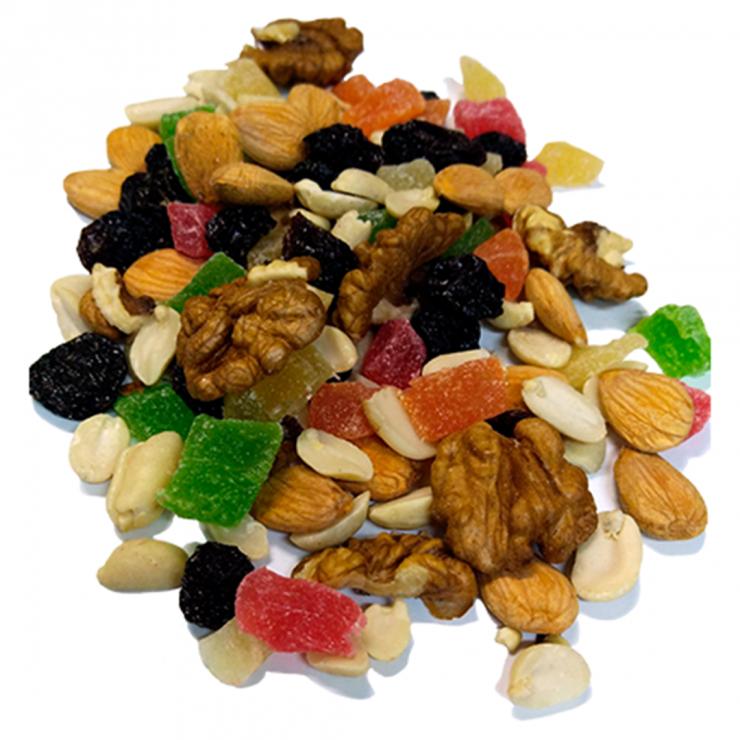 Коктейль фруктово-ореховый №2