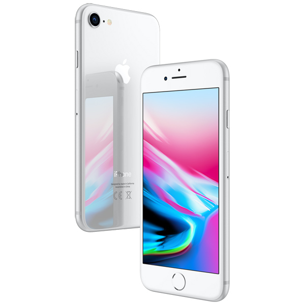 Смартфон APPLE iPhone 8 64Gb, серебристый