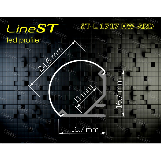 Профиль угловой ST-L1717-HW