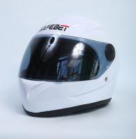 Шлем интегральный белый вид 2