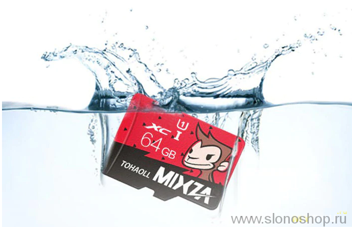 Карта памяти Mixza Tohaoll Monkey Year Series 64GB Micro SD флэшка