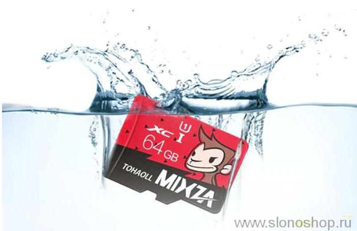 Карта памяти Mixza Tohaoll Monkey Year Series 64GB Micro SD флэшка