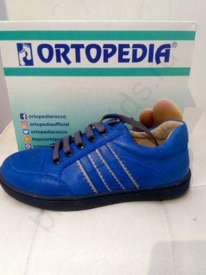 0009 Ortopedia Кроссовки детские (31-36) в синем цвете