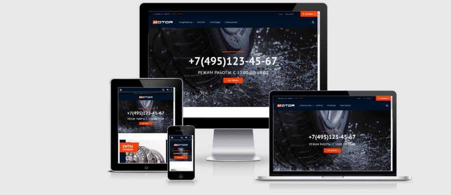 Motor website