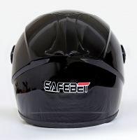 Шлем интегральный черный глянец вид 3
