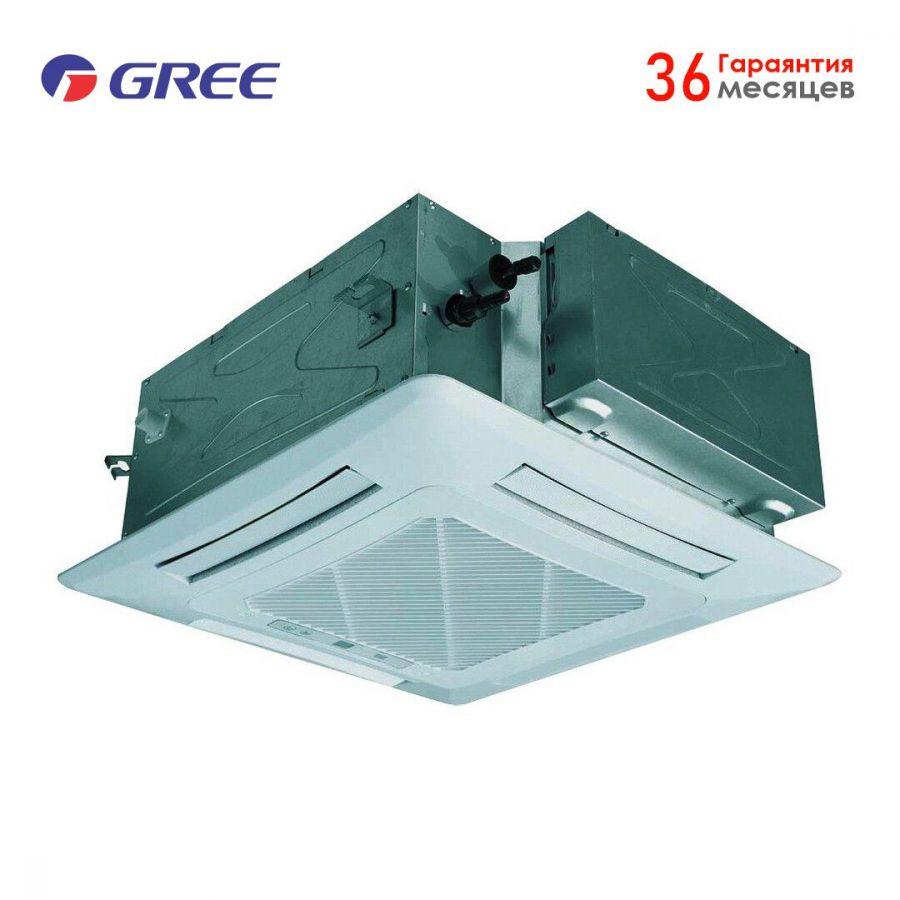 """GREE U-MATCH II (18 """"куб"""") GUD50T/A1-K/GU50W/A1-K, Кондиционер кассетный"""