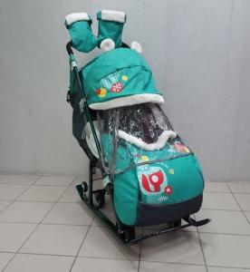 Ника детям 7-2 2018(6 колес) С мехом