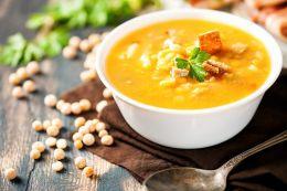Суп гороховый по-кавказски