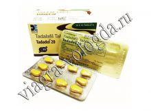 Тадалафил 20 мг (Tadadel)