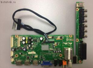 Материнская плата HK-T.MST182V03 1222D (RUBIN RB-32K102U)