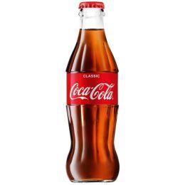 Кока-Кола в стеклянной бутылке