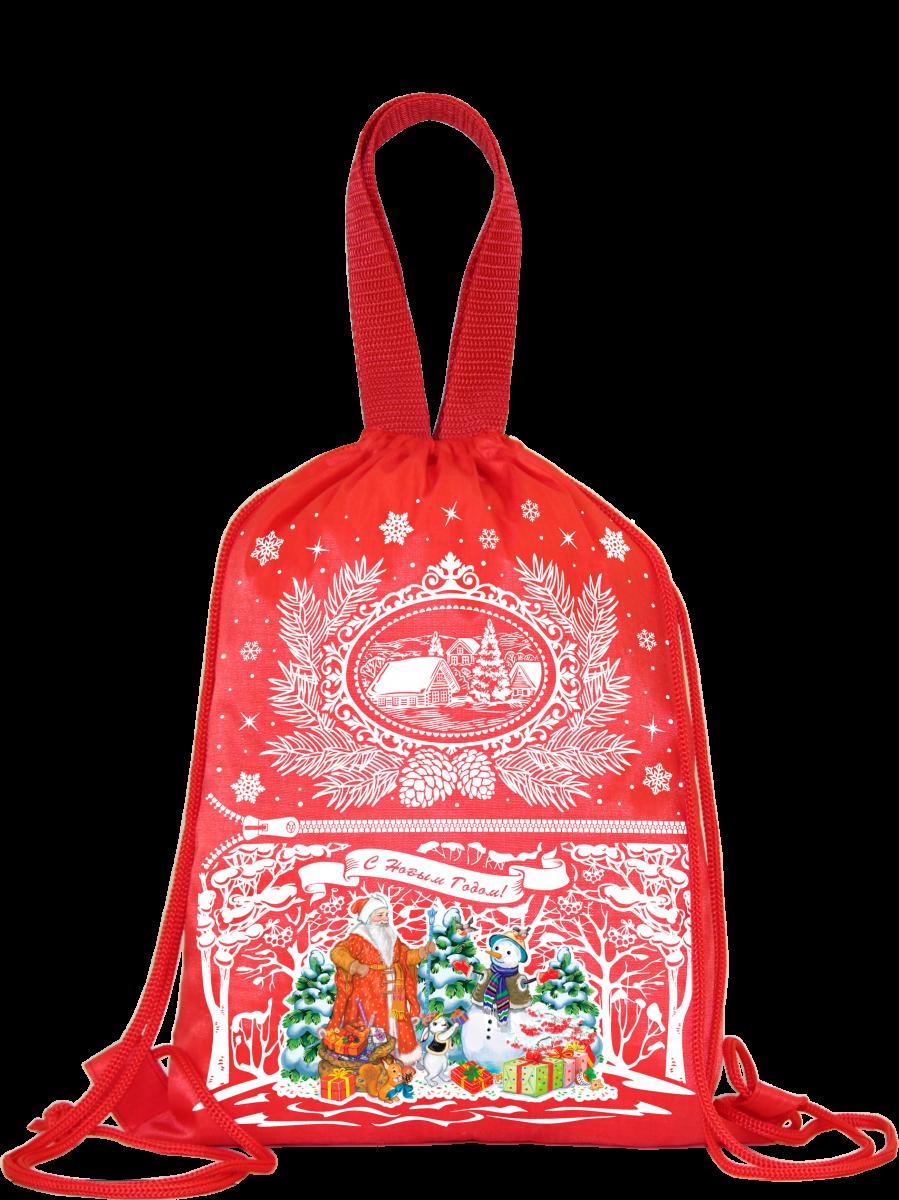 """Рюкзак """"Подарки детям"""" (красный) 1500 грамм"""