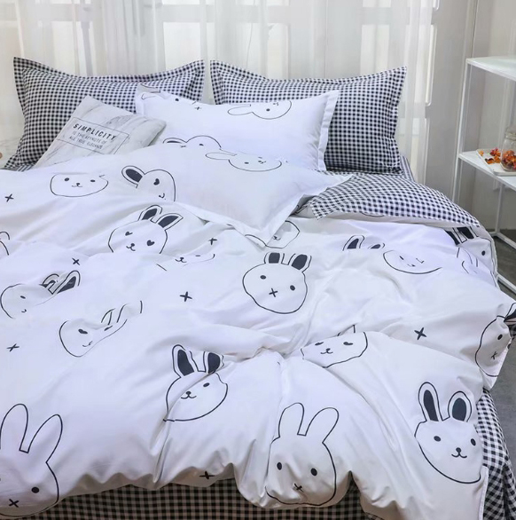 Детское постельное белье Зайчики